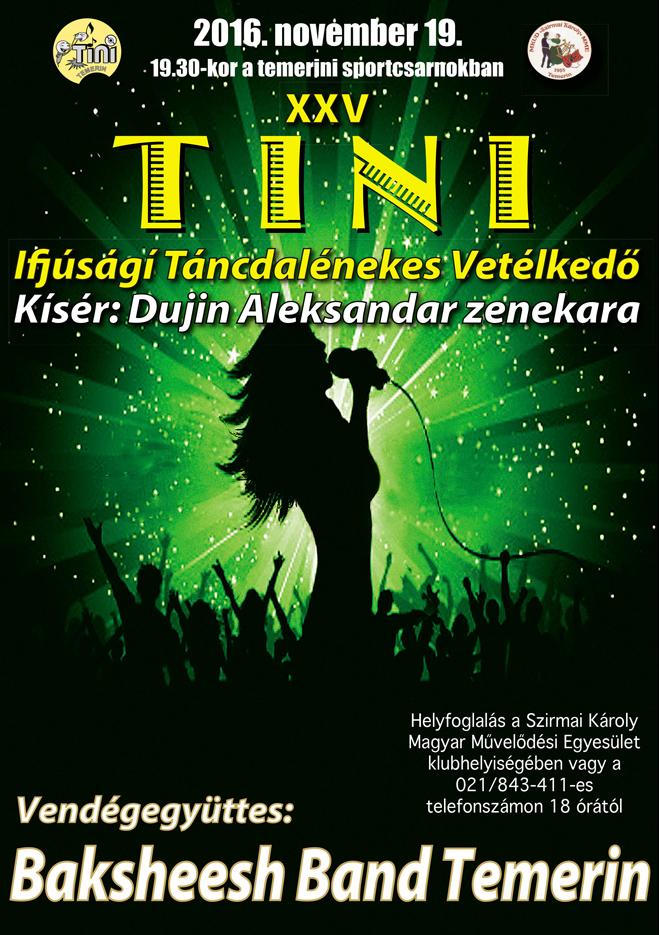 Tini plakát - 2015